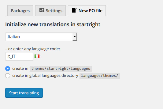 Po Directory Template | Translating A Theme With The Loco Translate Plugin Create And Code