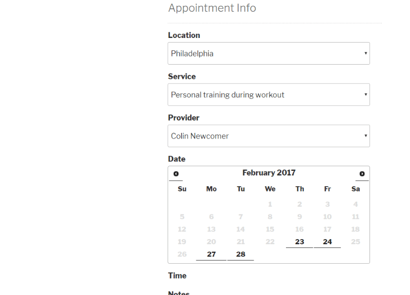 how to set up an appointment booking calendar with wordpress