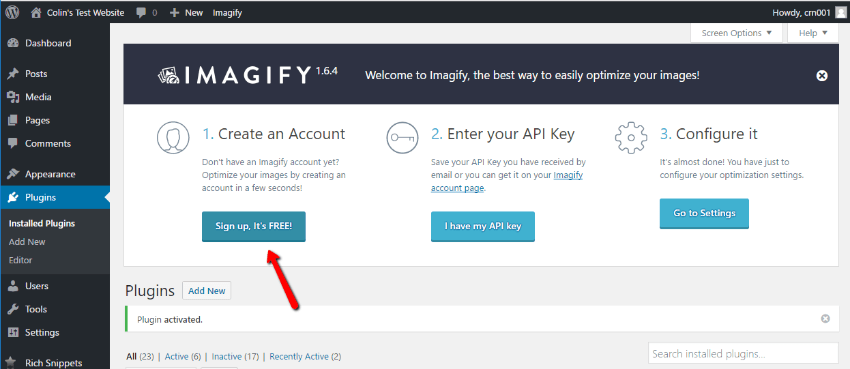 imagify review how to use
