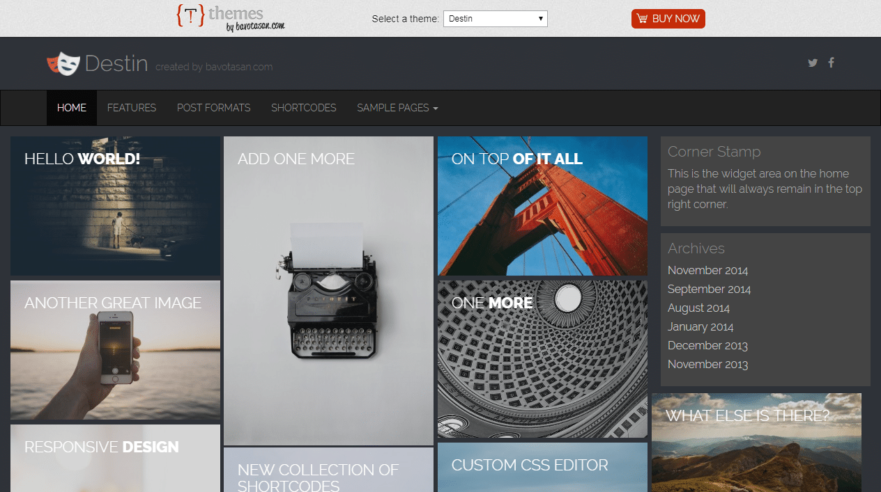 60+ Best Free WordPress Themes - 2017 - Create and Code