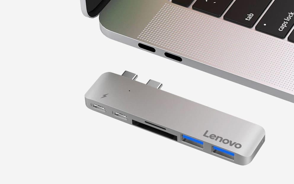 Lenovo USB C Hub for Macbooks Gift
