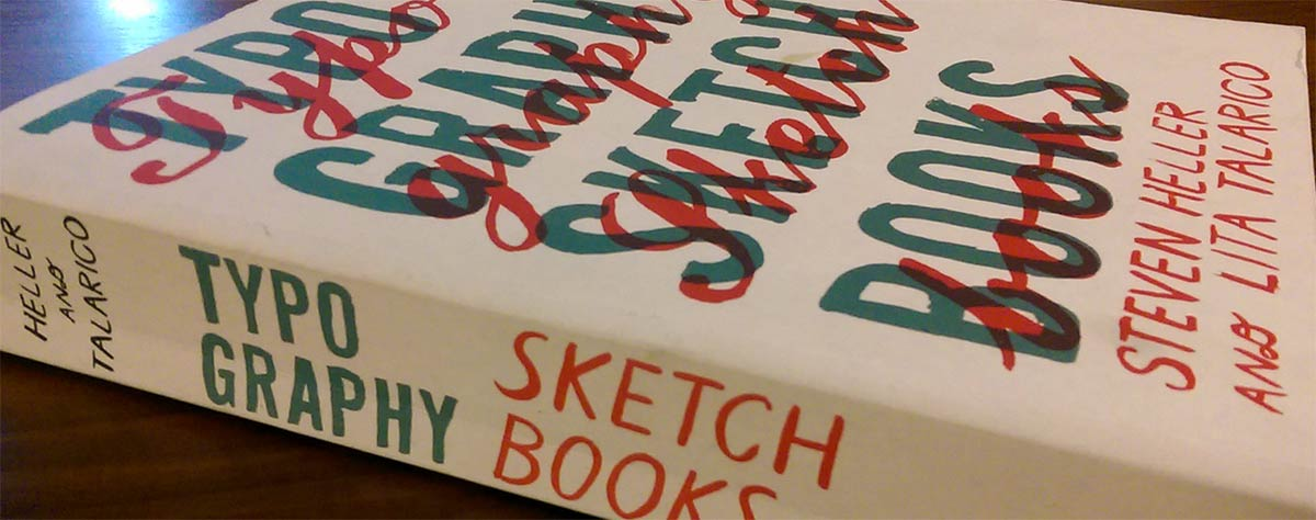 Typography Sketchbooks Gift