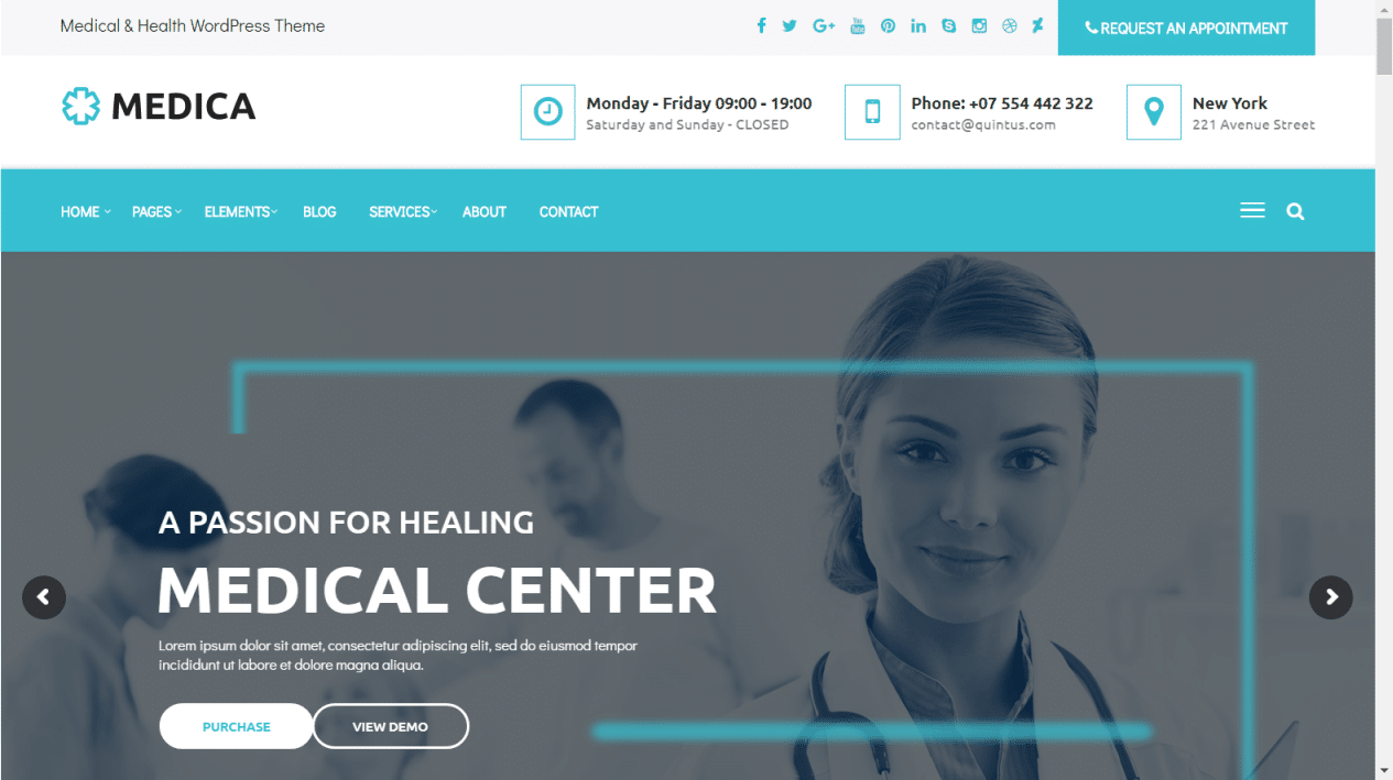 30+ Best Medical WordPress themes for Doctors, Dentists and medical ...