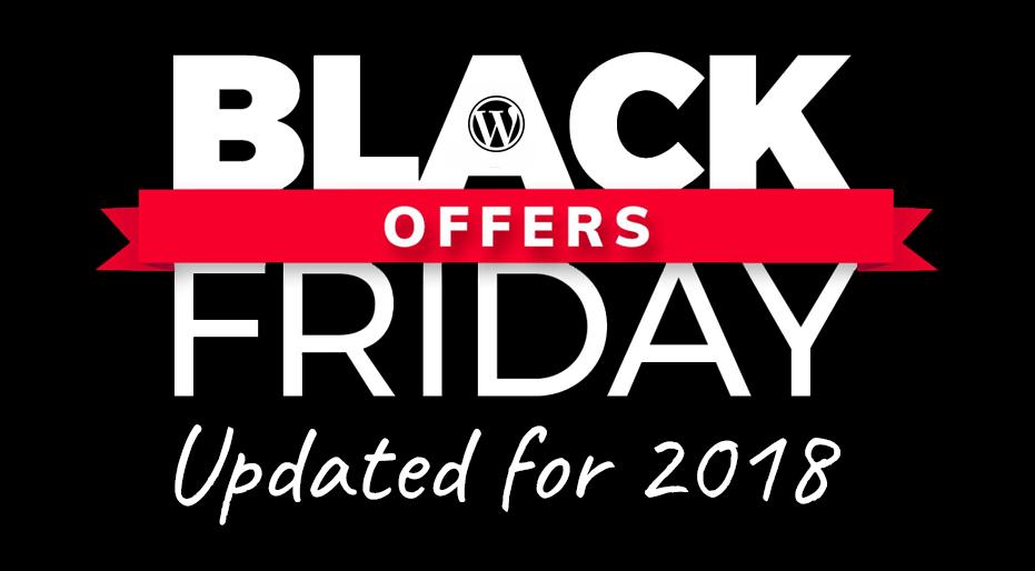 624866fd9a5 Best Black Friday WordPress Deals   Cyber Monday 2018 WordPress ...