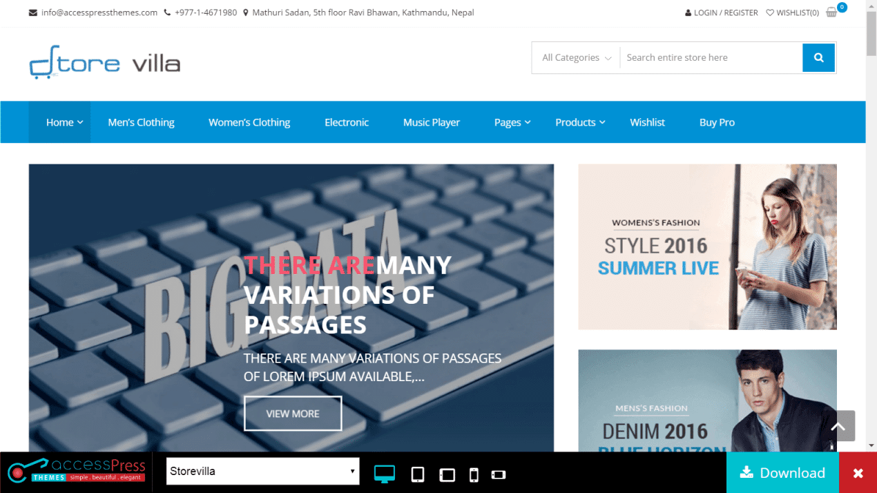 30+ Best Free WooCommerce Themes - UPDATED March 2019