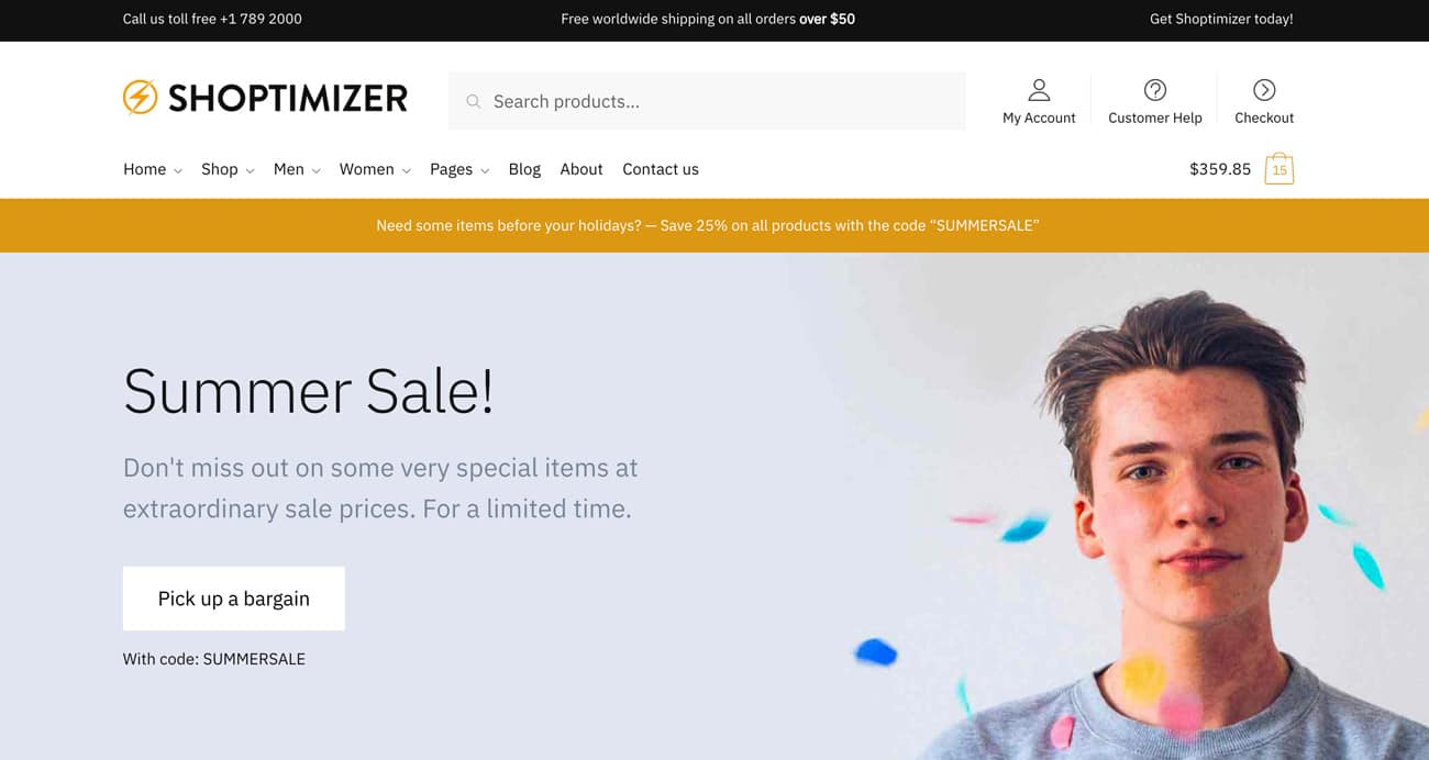 Shoptimizer Theme Coupon Code
