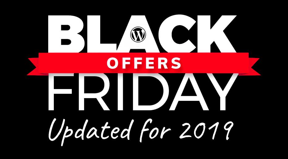 Best Black Friday Wordpress Deals Cyber Monday 2019 Wordpress Deals Updated November 29 2019 Create And Code