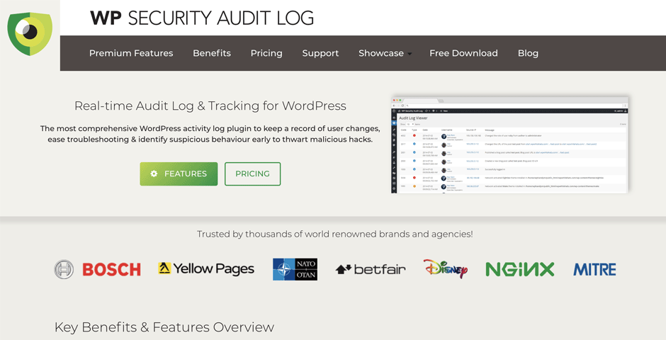 WP Security Audit Log Coupon Code